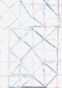 oil pastel on paper, 20,8 x 14,8 cm